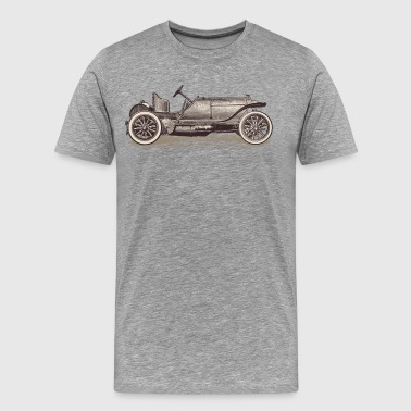 Ancient hand drawn transport vehicle - Men's Premium T-Shirt