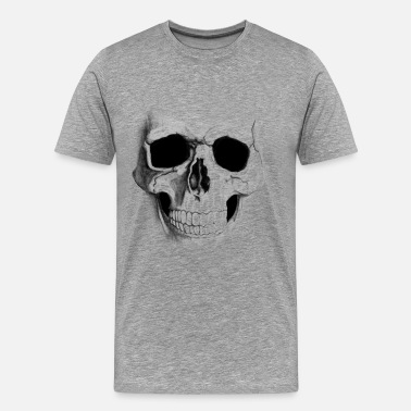 Soa skull drawing soa style - Men's Premium T-Shirt
