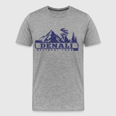Denali National Park - Men's Premium T-Shirt