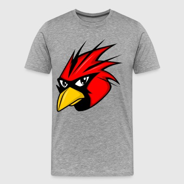Free red bird head - Men's Premium T-Shirt