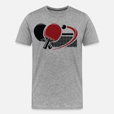Table Tennis Table tennis sport - Men's Premium T-Shirt