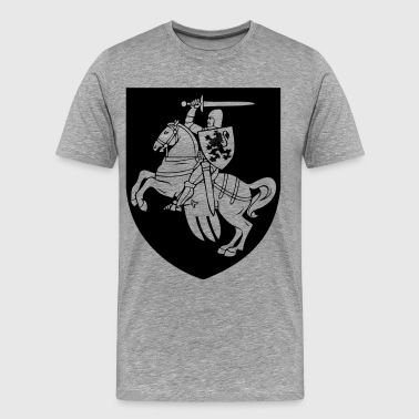 Heraldic element horse silhouette - Men's Premium T-Shirt