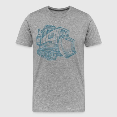 Proclain hand drawing art - Men's Premium T-Shirt