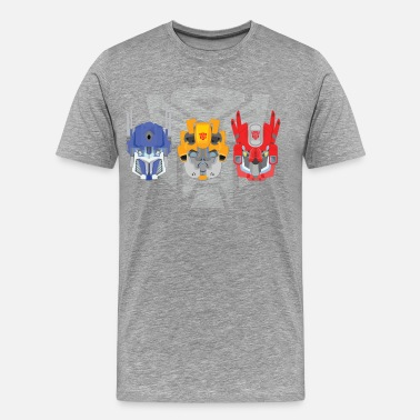 Transformer Transformers head art - Men's Premium T-Shirt