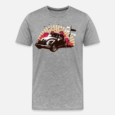 Car Art Vintage car art - Men's Premium T-Shirt