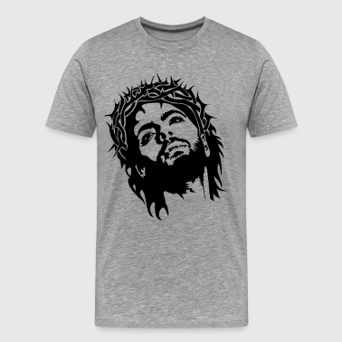 Jesus Christ image - Men's Premium T-Shirt