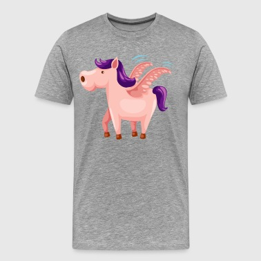Toy horse with wings - Men's Premium T-Shirt