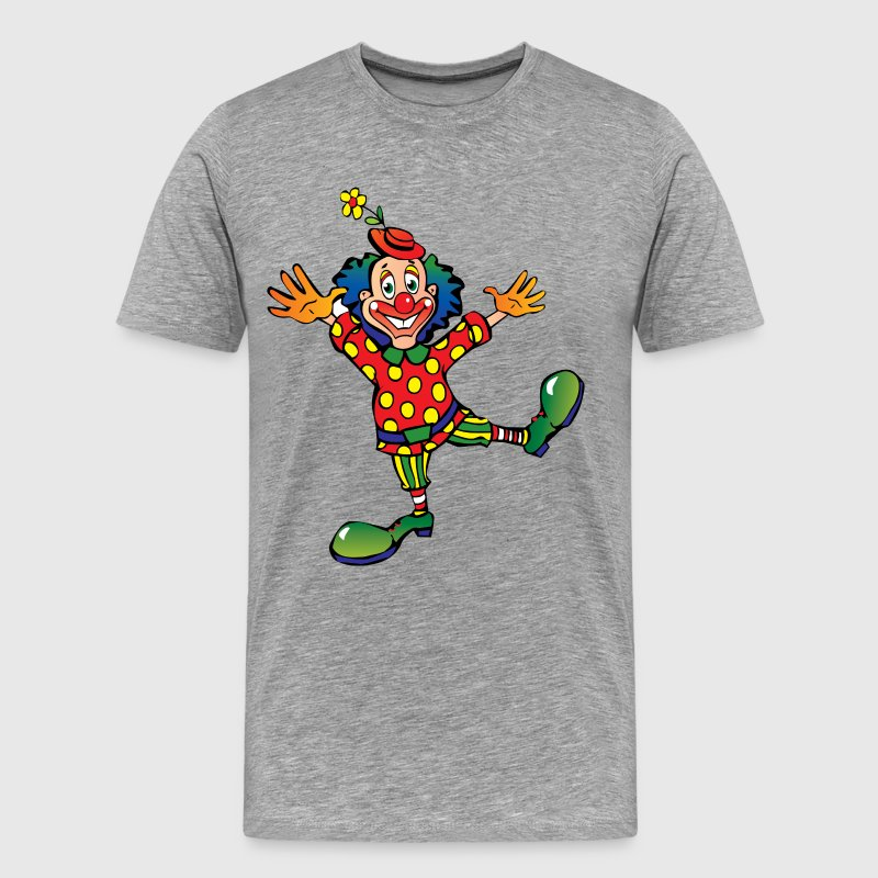 Happy clown art - Men's Premium T-Shirt