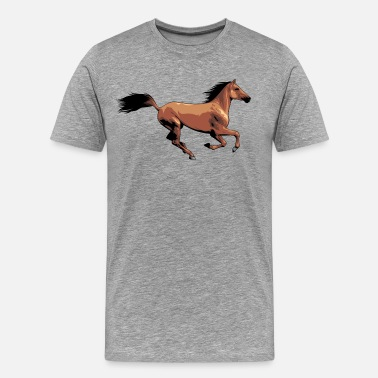 Horse Designs Horse creative design - Men's Premium T-Shirt