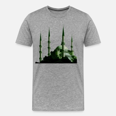 Mosque Turkey Istanbul the blue mosque - Men's Premium T-Shirt
