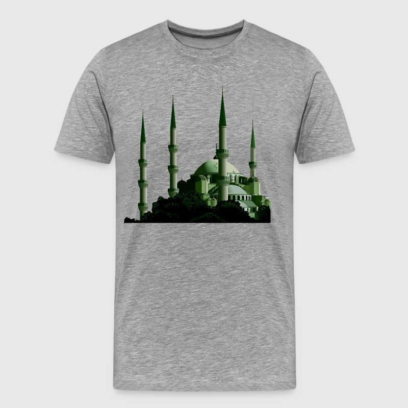 Turkey Istanbul the blue mosque - Men's Premium T-Shirt