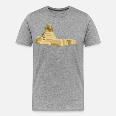 Pyramids Egypt pyramid art - Men's Premium T-Shirt
