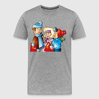 Kids Santa Winter Santa kids - Men's Premium T-Shirt