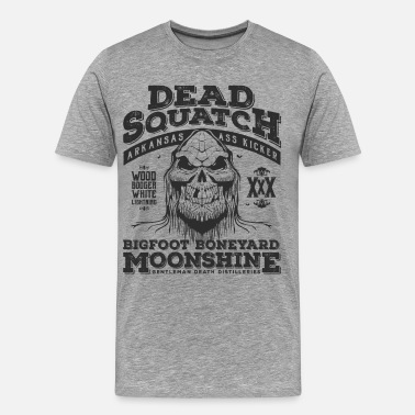 Moonshine Dead Squatch Moonshine - Men's Premium T-Shirt
