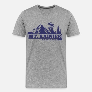 Mount Rainier Mount Rainier - Men's Premium T-Shirt