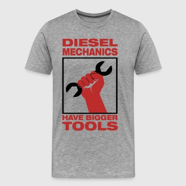 Mechanics Bigger Tools - Men's Premium T-Shirt