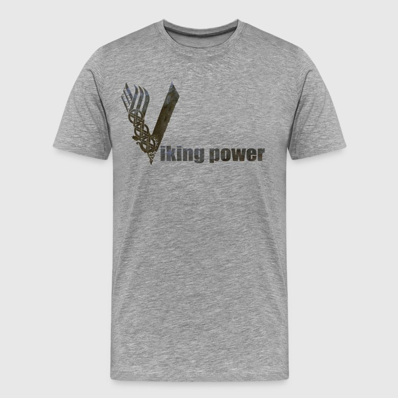 viking pwer - Men's Premium T-Shirt