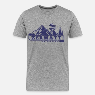 Zermatt Zermatt Switzerland - Men's Premium T-Shirt