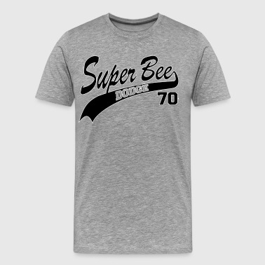 70 Super Bee - White Outl - Men's Premium T-Shirt
