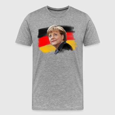 Angela Merkel - Men's Premium T-Shirt