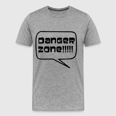 Danger Zone - Men's Premium T-Shirt