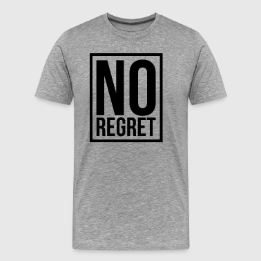 NO REGRET - Men's Premium T-Shirt