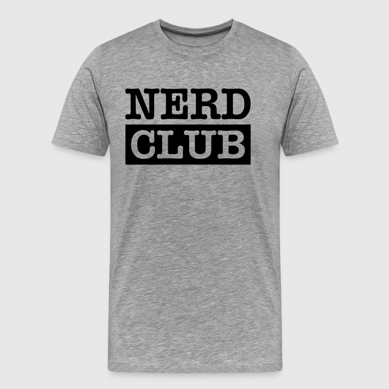 NERD CLUB GEEK WEIRD SMART SCIENCE - Men's Premium T-Shirt