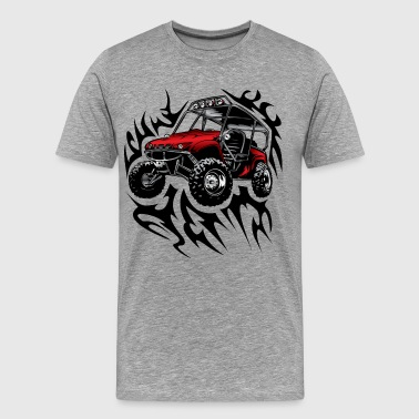 offroad utv side by side shirt - Men's Premium T-Shirt