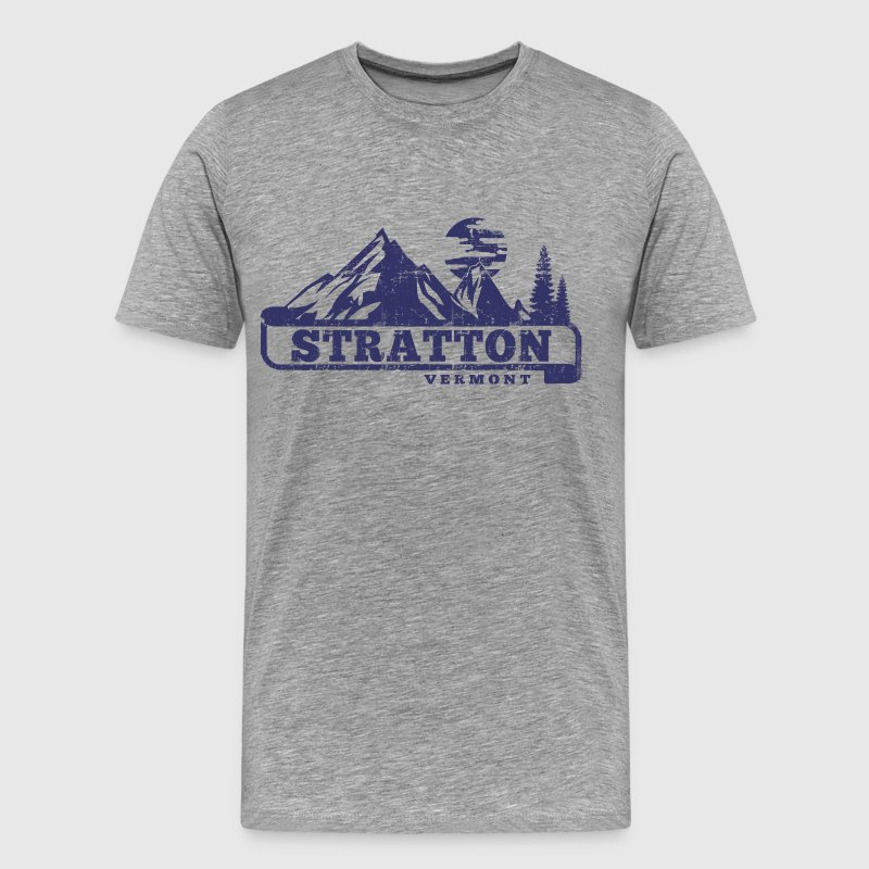 Stratton Vermont - Men's Premium T-Shirt