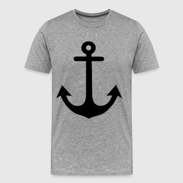 Anchor black solo - Men's Premium T-Shirt