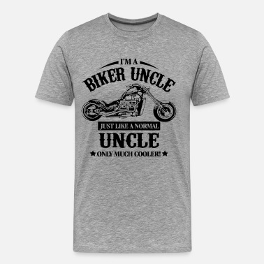 Biker Uncle Biker Uncle - Men's Premium T-Shirt