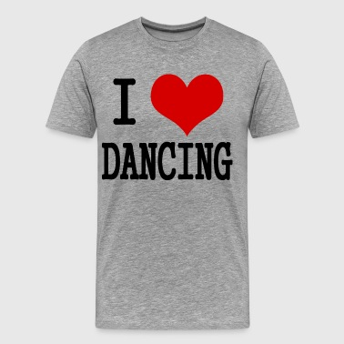 I love dancing - Men's Premium T-Shirt