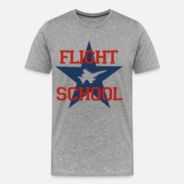 Flight School Flight School - Men's Premium T-Shirt