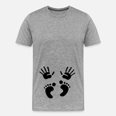 Fruit Of The Loom Or Gildan Baby puching - Men's Premium T-Shirt