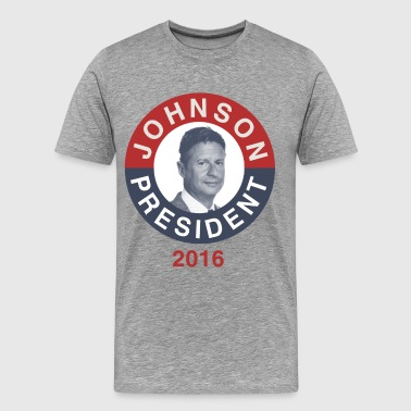 Gary Johnson 2016 - Men's Premium T-Shirt