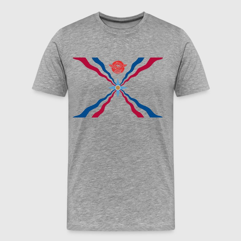 Assyrian Flag - Men's Premium T-Shirt
