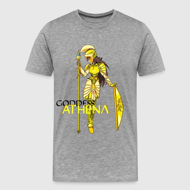 Goddess Athena - Men's Premium T-Shirt
