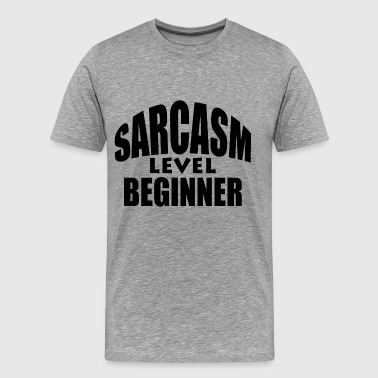 BEGINNER SARCASM - Men's Premium T-Shirt