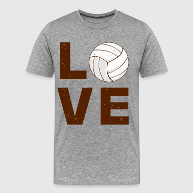 love volley ball - Men's Premium T-Shirt