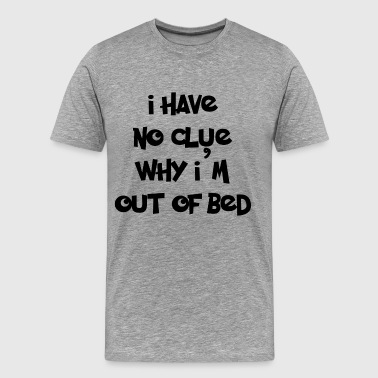 NO CLUE - Men's Premium T-Shirt