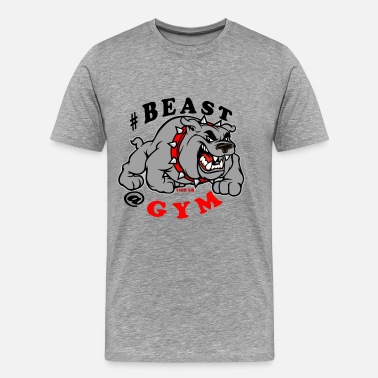 Unleash The Beast Gym Beast at the gym - Men's Premium T-Shirt
