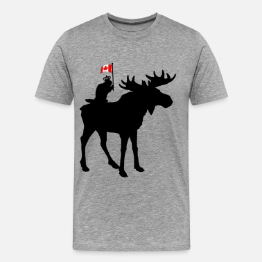 Quebec Oh Canada ! - Men's Premium T-Shirt