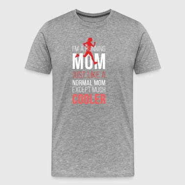 Running mom T-shirt - Men's Premium T-Shirt