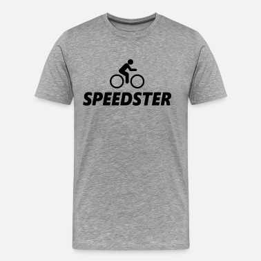 Speedster Speedster Biker Bicycle - Men's Premium T-Shirt