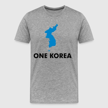 One Dream One Korea - Men's Premium T-Shirt