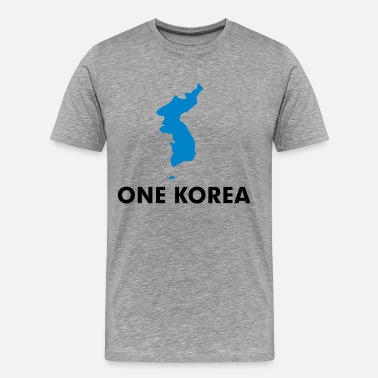 Korea One Dream One Korea - Men's Premium T-Shirt