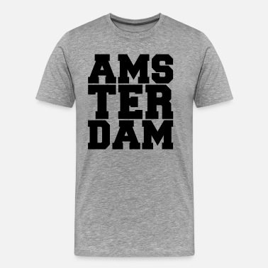 Dutch Amsterdam AMSTERDAM DUTCH EUROPE - Men's Premium T-Shirt