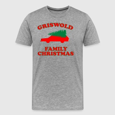 Griswold Family Christmas - Christmas Vacation - Men's Premium T-Shirt