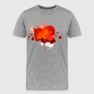 Paint Splatter - Men's Premium T-Shirt