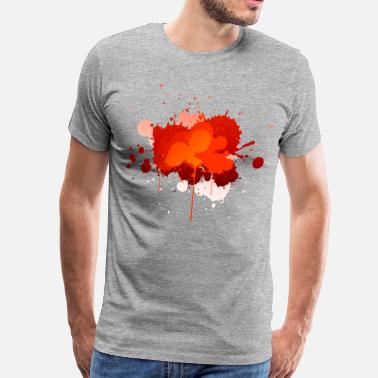 Paint Splatter Paint Splatter - Men's Premium T-Shirt